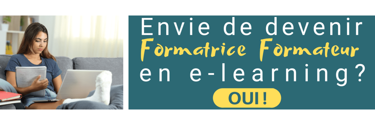 Devenez formateur ou formatrice en e-learning, blended learning ou microlearning