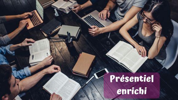 Présentiel enrichi : utilisation des ressources du web dans la classe mais de manière ponctuelle et non-intégrée