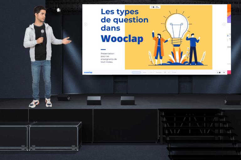 Comment intégrer des questions dans Wooclap ? Une présentation pour tout vous expliquer