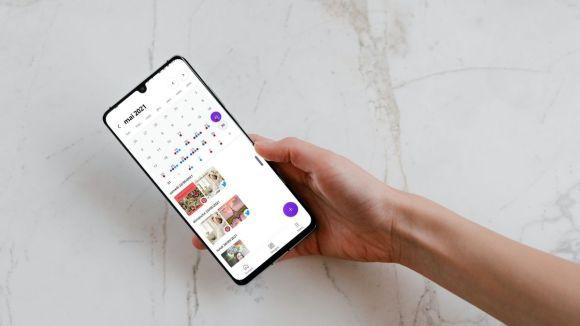 Version mobile du planificateur de Canva for Work