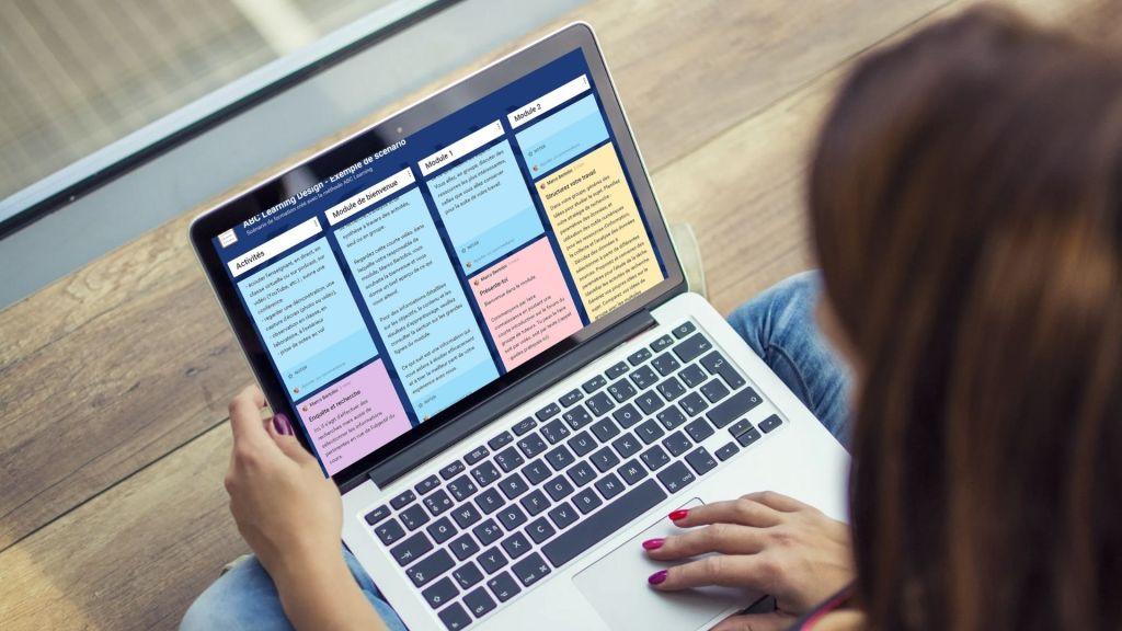 Cours en ligne - scénarisation ABC Learning Design