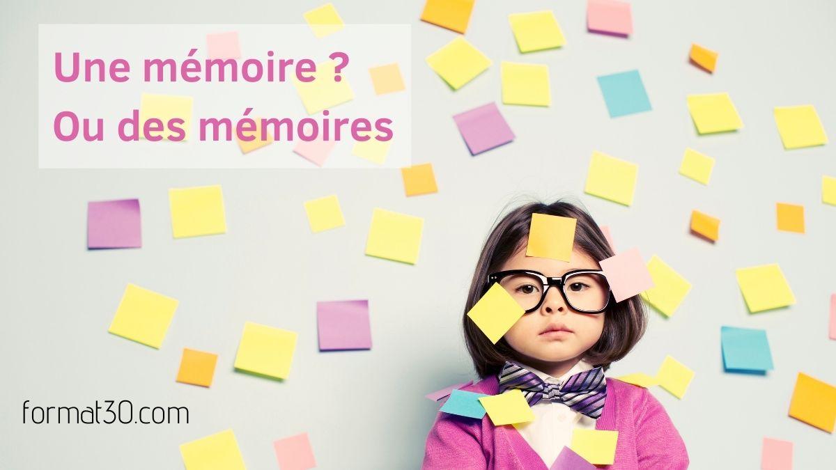 Avons-nous une ou des mémoires ?