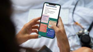 Présentation pour microlearning - le format mobile first de canva