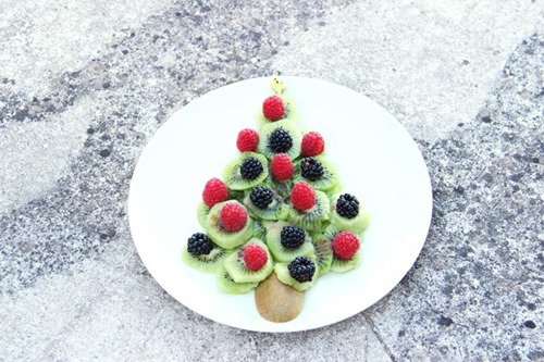 sapin de noel food art cuisine