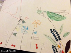 coloriage printemps fourmis