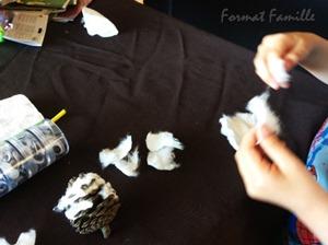 hibou activite manuelle enfant rapide