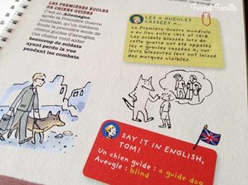 chien guide livre enfant