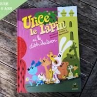 bande dessinée enfant ulice le lapin maternelle