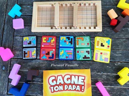 gagne ton papa défis deux joueurs jeu de logique puzzle