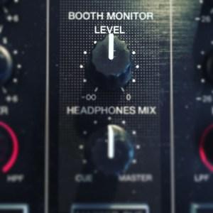 Booth monitor level retour pioneer ddj formation dj table de mixage dj