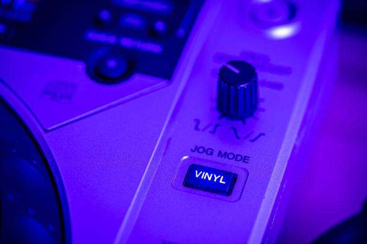 Jog Mode Vinyle DJ