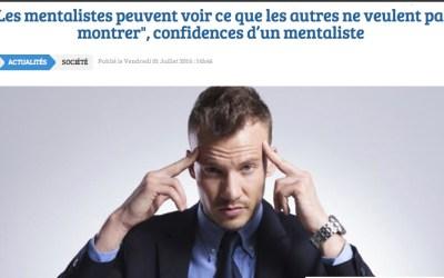 WEB – Confidences du mentaliste Pascal de Clermont – Webzine Magazine