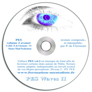 Mentalisme Pascal de Clermont CD Mind Waves 7 PES 2 visuel