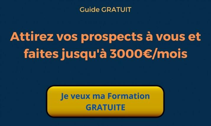 Attirez vos prospects à vous et faites jusqu'à 3000€ par mois