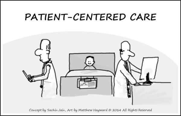 soin orienté patient