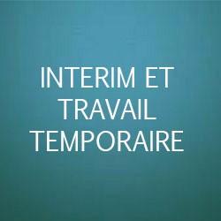 interim et travail temporaire