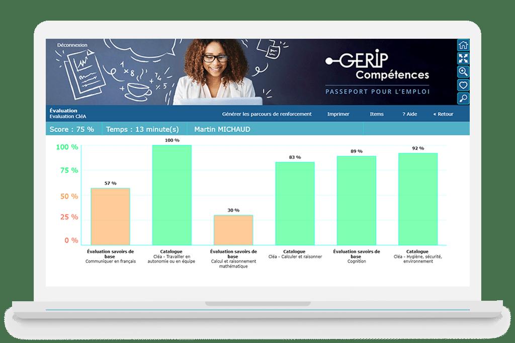 Evaluation Savoirs de base Gerip Competences