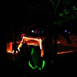 festa labirinto na viagem de 9 ano