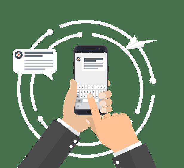 HIPAA Compliant Text Message Invitations Header