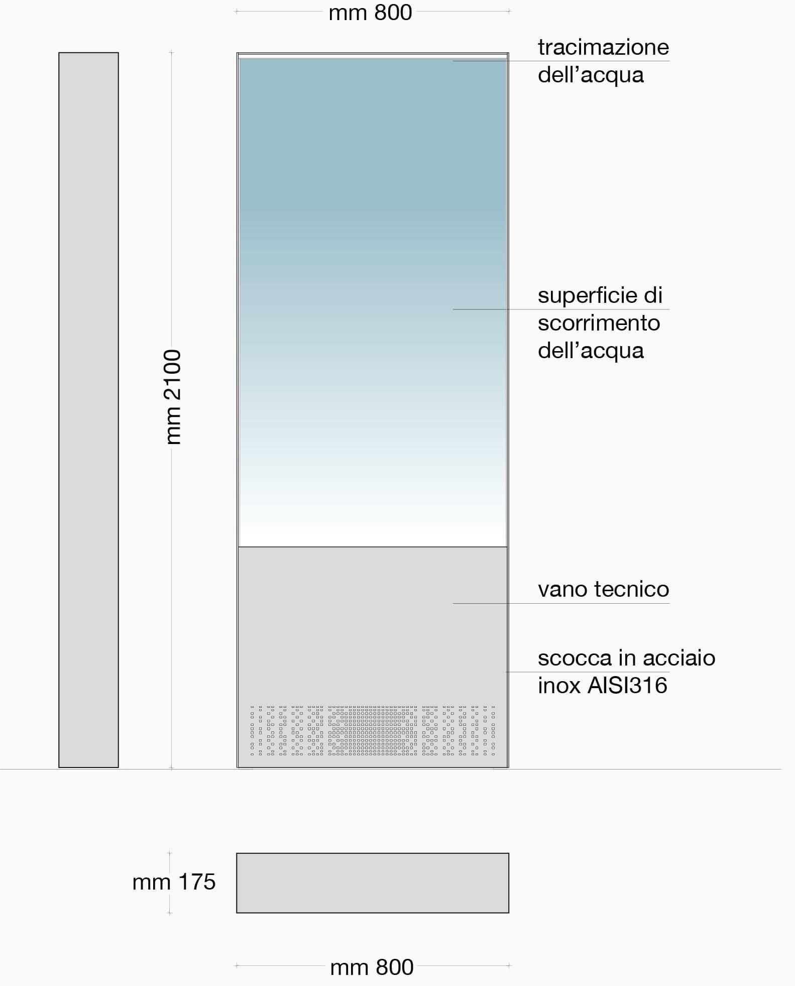 Collezione da Interno - Fontana Interno Le Sirene | Forme D\'acqua