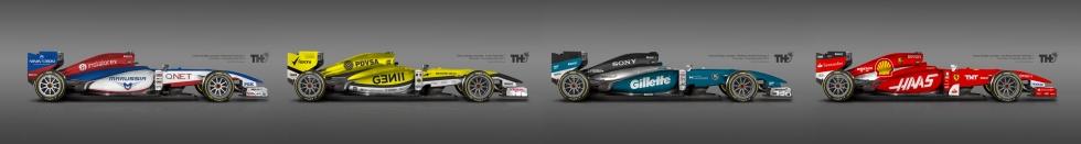 2015 F1-bils koncept