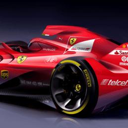 Ferraris drömkoncept för F1