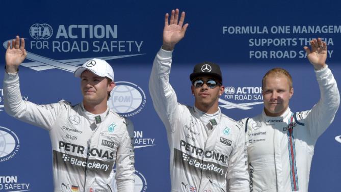 Belgiens GP 2015 Kval topp trio