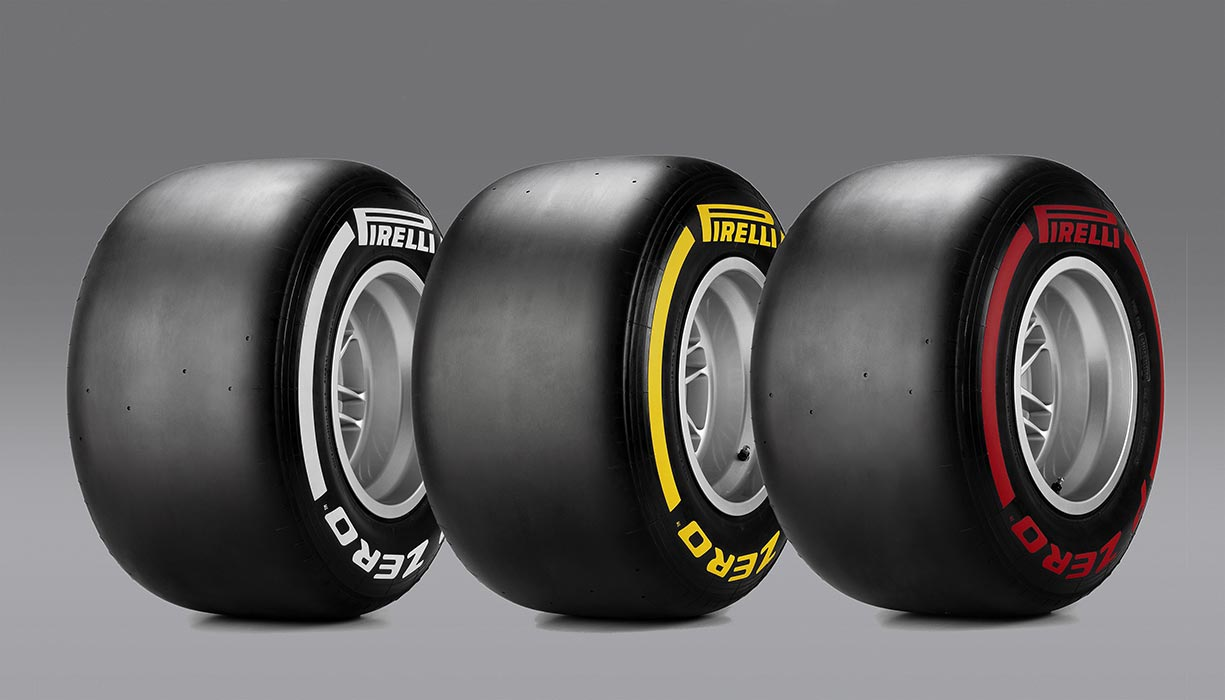 2016 Pirelli F1 Däck: Medium - Soft - SuperSoft