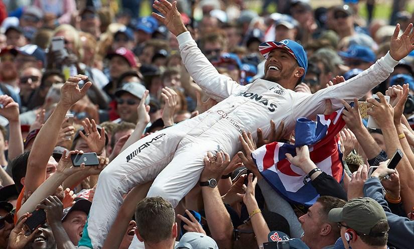 Resultat & förarkommentarer Storbritanniens GP