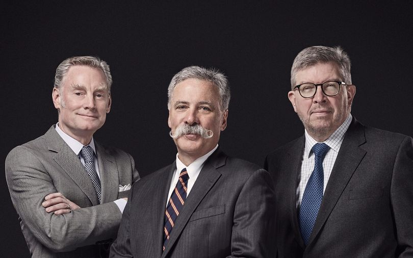 Seean Bratches - Chase Carey- Ross Brawn