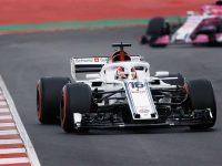Halo på 2018 Sauber
