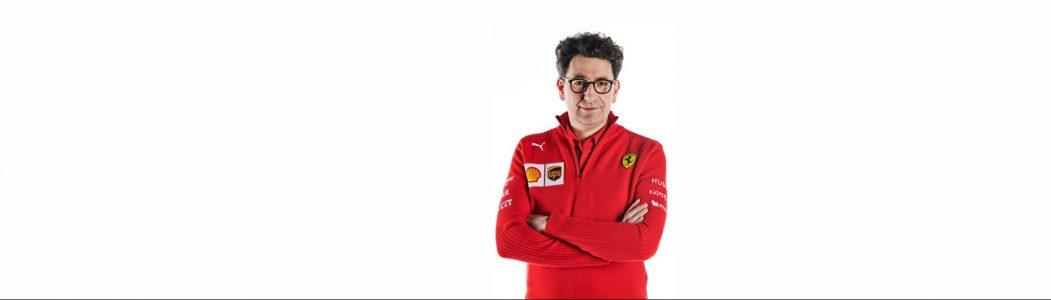 Mattia Binotto - stallchef Scuderia Ferrari