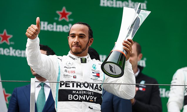 Hamilton vinner Kinas GP 2019