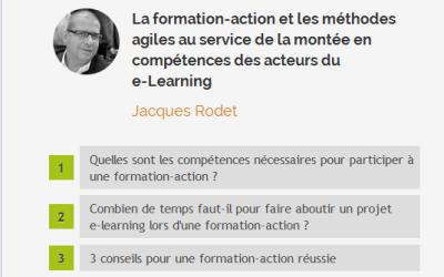 Formation-action et méthodes agiles