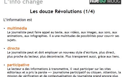 MOOC écrire pour le web : quelles révolutions ?