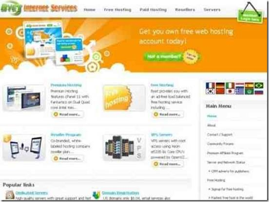 bytehoste plate-forme d'hébergement gratuit
