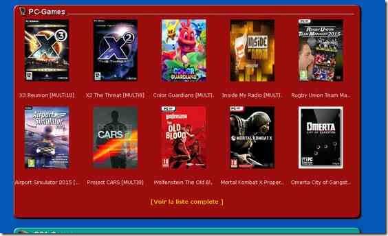 jeux torrent