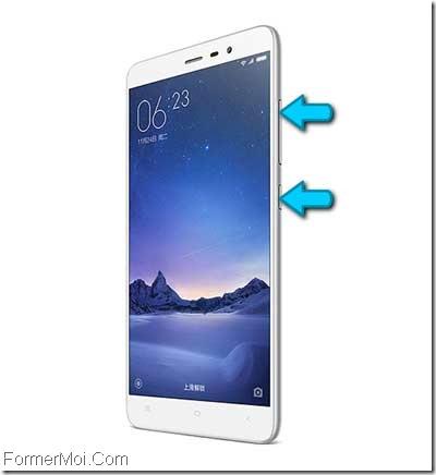 Herd reset et réinitialisé Xiaomi Redmi 4