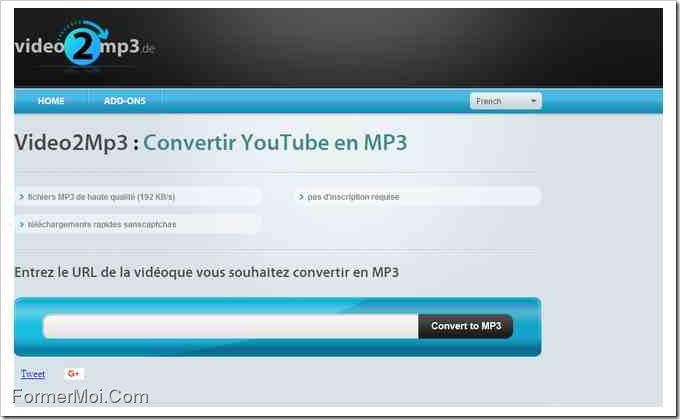 youtube en mp3 gratuitement