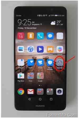 réinitialisation matérielle Huawei Mate 20 Pro