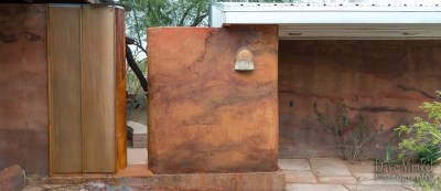 Form Free Poured Earth Wall