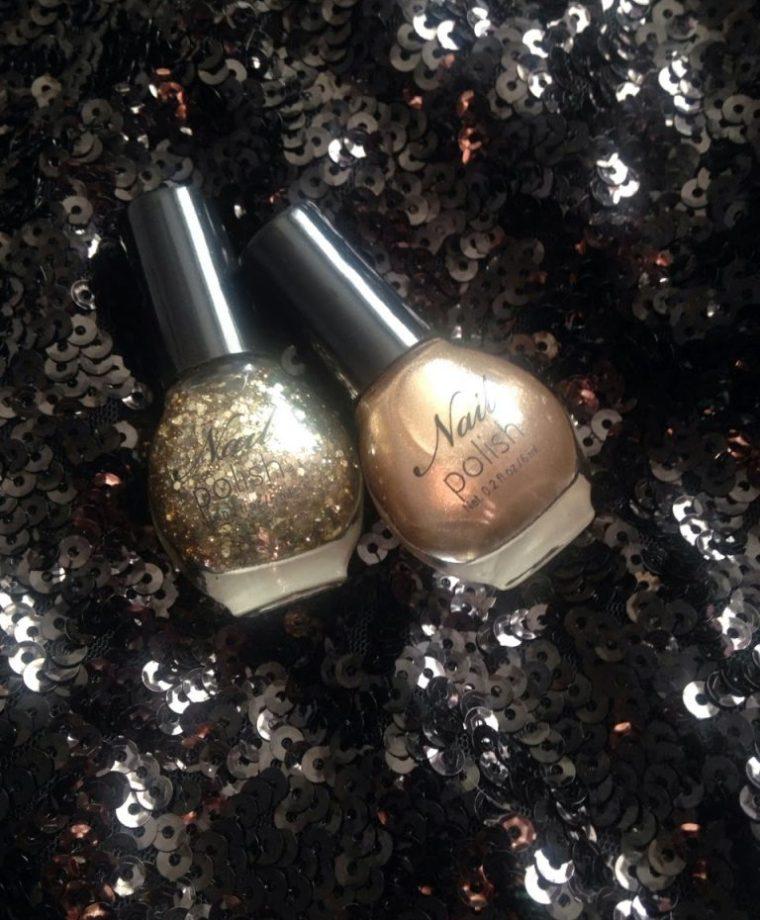 Inspire Magazine Online - UK Fashion, Beauty & Lifestyle blog   Nails Of The Week // H&M Nail Polish Duo in Gold; Inspire Magazine; Inspire Magazine Online; Nails Of The Week; NOTD; H&M; H&M Nail Polish Duo