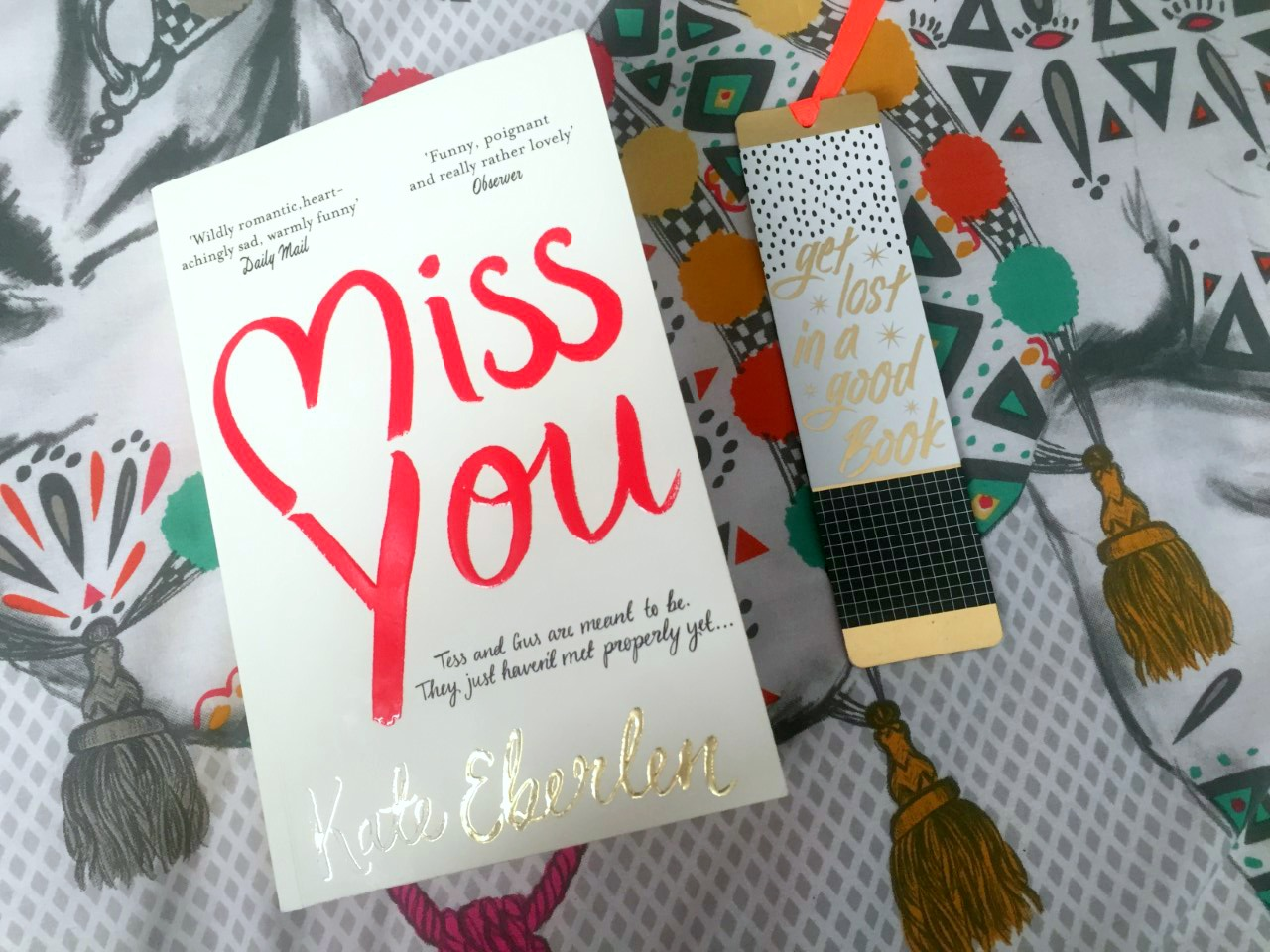 Formidable Joy   UK Fashion, Beauty & Lifestyle Blog   Book Review   Miss You   Miss You by Kate Eberlen   Kate Eberlen