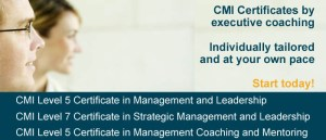 CMI qualifications via coaching