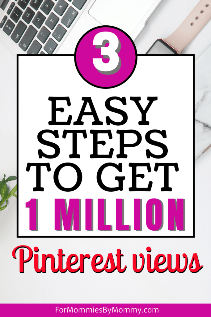 3 step pinterest strategy to skyrocket pinterest views and blog traffic