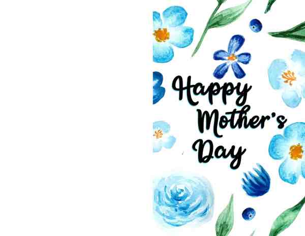 Free Printable Mother's Day DIY Cards