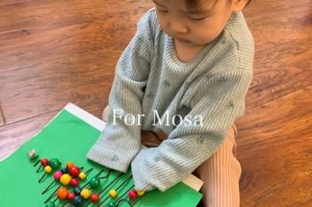 育兒 給嬰兒的聖誕倒數月曆 感官觸摸板 Sensory Board