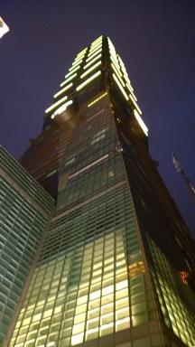 Taipei 101, Night