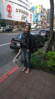 Eleni on Chung-Hsiao East Road, Taipei.