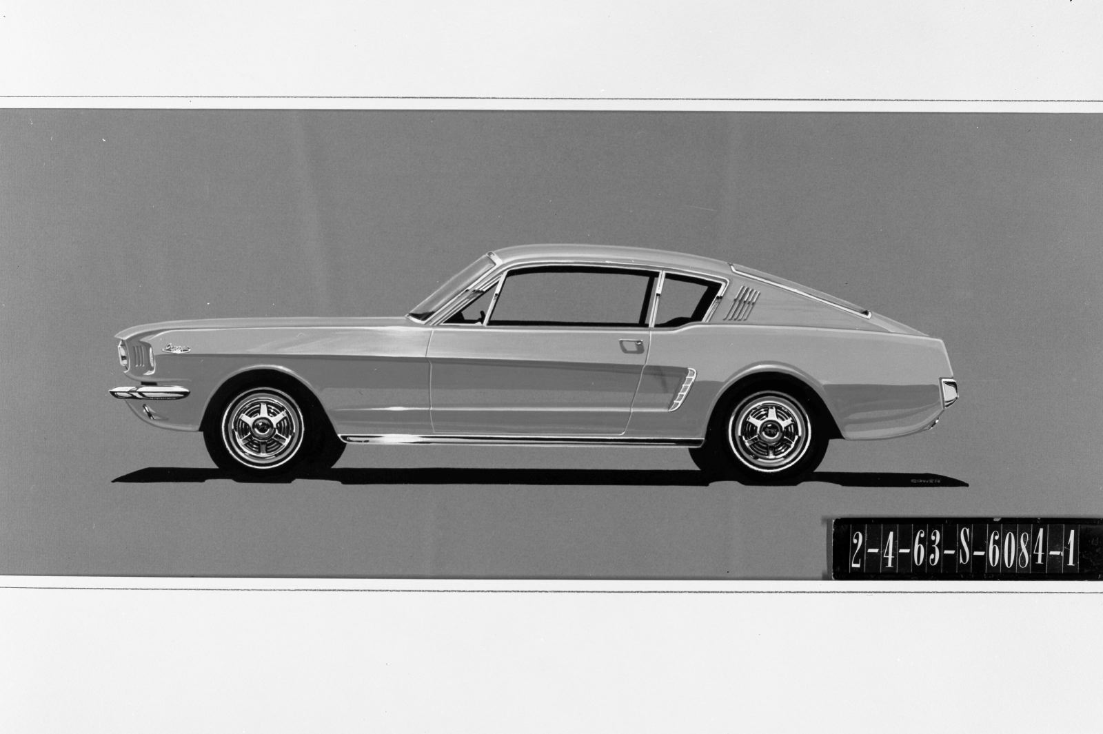 Ford mustang proposal 1963